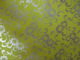 Tissu de polyester d'impression de clinquant de fleur d'Oxford 600d