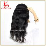 onda brasileña de la carrocería del pelo de la Virgen de los productos de pelo de 8A Rosa