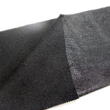 Tela del poliester con la capa brillante del polvo
