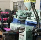 Auto máquina giratória da sapata do carregador da modelação por injeção da cor do PVC dois