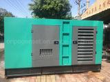 250kw 땅 Use Water Cooled Silent Genset Diesel Generator Set