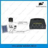 2개의 LED 전구를 가진 4W 휴대용 소형 태양 에너지 장비