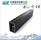 Het anodiseren het Zwarte 810um Profiel van het Aluminium