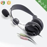 Auscultadores dos auriculares do computador da alta qualidade com o Mic do fornecedor de China