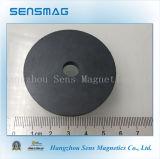 Imán de anillo permanente de gran alcance modificado para requisitos particulares fabricación de la ferrita para el motor