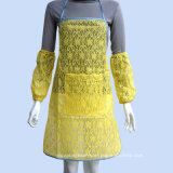 Design sexy Lace Waterproof Adult Women Long Apron per Kitchen Apron