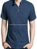 신식 Flax 형식 남자의 t-셔츠