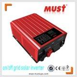 6kw 순수한 사인 파동 격자 동점에 그리고 격자 태양 변환장치 떨어져 최신 판매 2kw