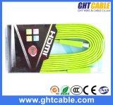 Groene Vlakke Kabel HDMI Van uitstekende kwaliteit (F016)