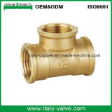 カスタマイズされた品質の黄銅は造った等しいティー(AV-70024)を
