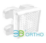 Parentesi di ceramica ortodontica dentale di Roth/M-Sliding