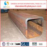 Cuadrado contento bajo de la aleación y tubo de acero rectangular