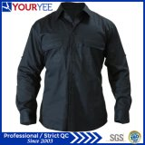 주문 긴 소매 일 셔츠 남녀 공통 셔츠 (YWS110)