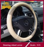 Plutônio 8181 ou tampa de roda super da direção do couro da fibra para o carro