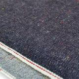 ткань 18962 джинсовой ткани хлопка зальбанда индига Dobby 11oz японская
