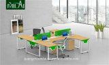 Traditioneller modularer Stahlfuss-Büro-Schreibtisch mit dem Befestigungsteil-Tisch-Schreibtisch-Bein