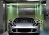 Elevatore residenziale dell'automobile di apertura della baracca della villa laterale di parcheggio