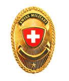 Emblema militar suíço da melhor qualidade