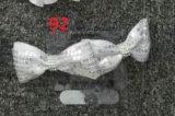 Forcelle decorative dell'argento del metallo di modo di Bowknot per i bambini 92