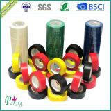 Fita da isolação do PVC da cor vermelha para a indústria elétrica