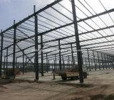 Здание структуры H-Стали мастерской сделанное колонки