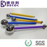 Комплект 4 инструментов шарика металла PCS высоки Polished, торт нержавеющей стали украшая моделирующ инструмент Fondant шарика металла