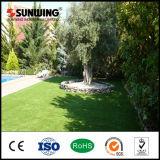 Almofada sintética Anti-UV econômica barata ao ar livre de choque do relvado da decoração do jardim