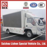 トラックLEDスクリーンのトラックの、トラックのブランドForland広告、Dongfeng