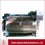 máquina de lavar 100kg industrial para finalidades da lavanderia na planta de lavagem