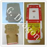 B или коробка пиццы Kraft e каннелюру Eco-Friendly (GD-CCB121)