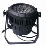 Indicatore luminoso impermeabile all'ingrosso di PARITÀ di prezzi 54PCS 3W RGBW LED
