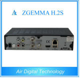 Zgemma H. 2s met Twin Tuner dvb-S2 Digital Satellite en TV Receiver met Linux OS