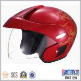 De koele Halve Helm van de Motorfiets van de Veiligheid van het Gezicht (OP205)