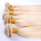De natuurlijke Inslag van het Menselijke Haar Remy van de Blonde Braziliaanse Maagdelijke/het Weven van het Haar