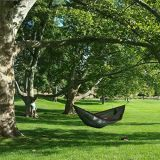 "Nylon portatile Fabric Travel Camping Hammock, 115 "" Long X 55 "" Wide, 600-Pound Capacity"