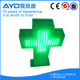 LEDの薬学の店の十字の印