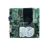 Celeron 1037uultra는 VGA/2 HDMI/Lvds를 가진 소형 Itx 어미판을 엷게 한다