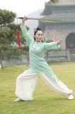 Uniforme de alto grado del resorte de las mujeres de la ji de Wudang Tai y del lino del verano