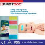 Febbre che riduce zona fredda, zona di raffreddamento per cura dei bambini