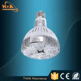 Éclairage en aluminium d'endroit de la cuvette DEL de lumière de haute énergie de ruban