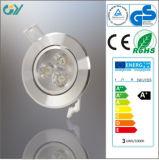 6000k 3W LED Downlight avec du CE RoHS
