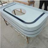 Kingkonree a personnalisé le dessus en pierre de vanité de quartz pour le marché de Dubaï