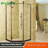 Cabine do chuveiro do aço 304 inoxidável para o banheiro moderno
