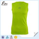 縦桁のタンクトップの女性のためのカスタム袖なしの体操の摩耗