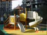 Fornitore Children Outdoor Playground con Kids Plastic Slides (YL-W005)