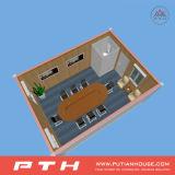 Vorfabriziertes und haltbares Behälter-Haus mit Möbel-Site