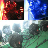7X10W RGBW 4in1 NENNWERT 64 flaches Mini-LED Licht