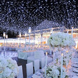 свет шнура занавеса венчания 100PCS СИД декоративный для дома Deocration праздника