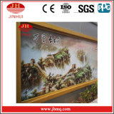 Barandilla de aluminio de la pared de cortina de la pintura de la capa de PVDF (Jh155)