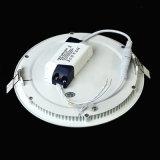 Luz de painel quente do diodo emissor de luz da venda, luz de painel do diodo emissor de luz 12W, luz de painel redonda do diodo emissor de luz